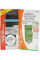 Sally Hansen Gel Cuticle Remover 28.3g and Diamond Cuticle Nail Creme 9g