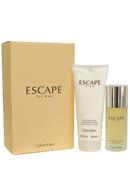 Escape for Men Eau de Toilette Spray 100ml After Shave Balm 200ml