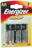 Ultra+ Energizer AA Batteries Pack of 4