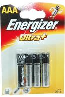 Ultra+ Energizer AAA Batteries Pack of 4