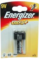 Ultra+ Energizer 9V Battery Single Unit