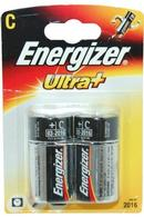 Ultra+ Energizer C Battery Pack of 2