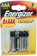 Ultra+ Energizer AAA Batteries Pack of 8