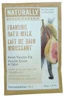 Naturally by Upper Canada Foaming Bath Milk Grains 50g Sweet Vanilla Fig