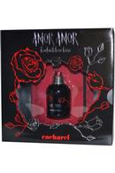 Amor Amor Forbidden Kiss Eau de Toilette Spray 50ml and Forbidden Notebook