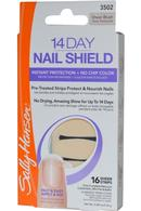 14 Day Nail Shield Sheer Strips x 16 Sheer Blush
