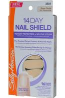14 Day Nail Shield Sheer Strips x 16 Sheer Nude