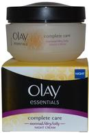 Olay Essentials Night Cream Complete Care 50ml Normal/Dry/Oily Skin