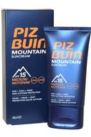 Piz Buin Mountain Suncream 40ml SPF15 Sun/Cold/Wind