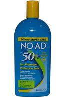 NO-AD Sun Protection 500ml SPF50 Water Resistant