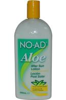 NO-AD After Sun Lotion 500ml with Fresh Coconut Scent
