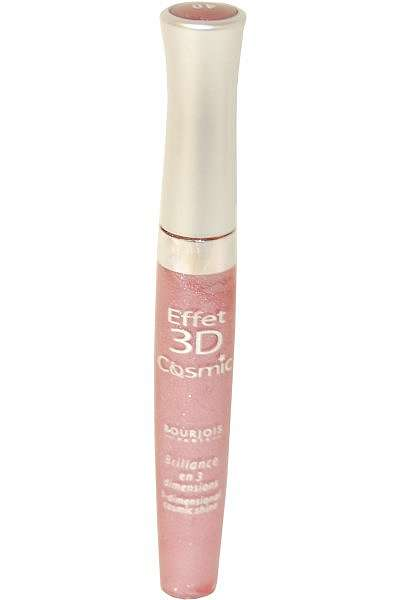 Effet 3D Cosmic by Bourjois 3 Dimensional Lip Gloss 7.5ml Rose Fantasmatic #40