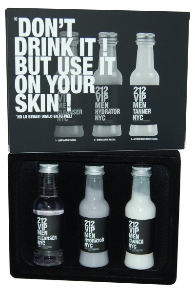 212 VIP Men by Carolina Herrera Skin Recovery Pack