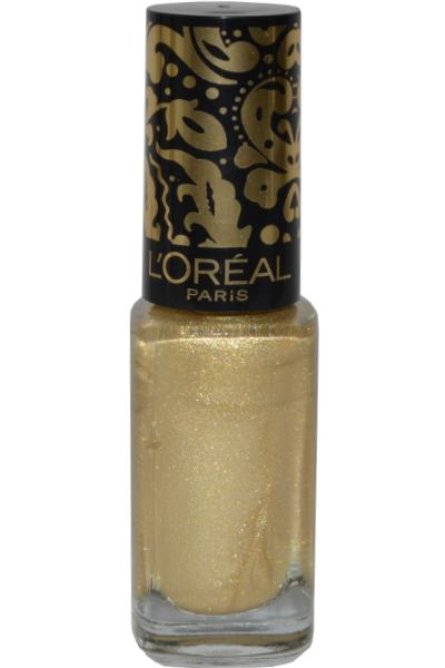 Color Riche by L Oreal Nail Varnish 5ml Ornimental Gold